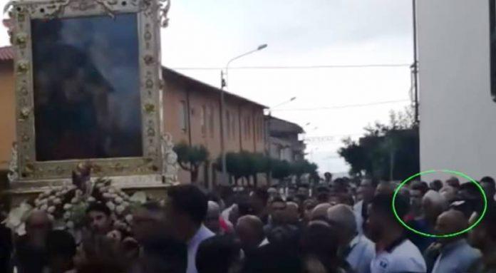 La processione interrotta a Zungri