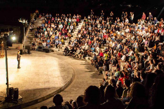 Il pubblico a Torre Marrana