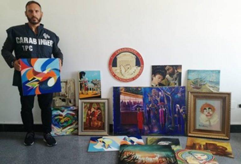 Falsi Van Gogh, Guttuso e Warhol: individuati 91 dipinti. Sequestri anche nel Vibonese