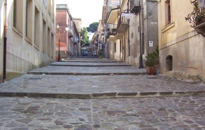La scalinata della Cerasarella a Vibo
