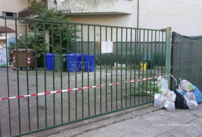 L'Eco-punto di via Pellicano
