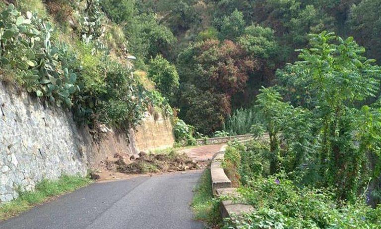 Maltempo e frane: chiuse diverse strade nel territorio di Joppolo