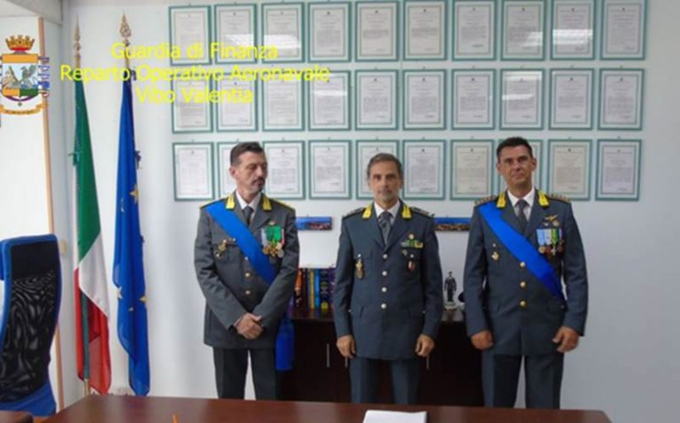 Guardia di Finanza: cambio al vertice del reparto operativo aereonavale di Vibo