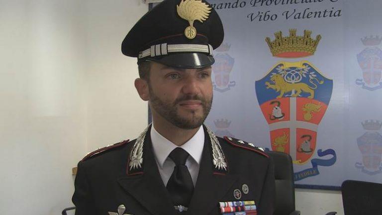 Carabinieri: il capitano Gianfranco Pino alla guida della Compagnia di Vibo (VIDEO)