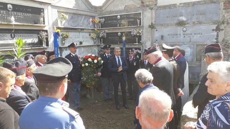 Monterosso non dimentica il sacrificio del brigadiere Curigliano