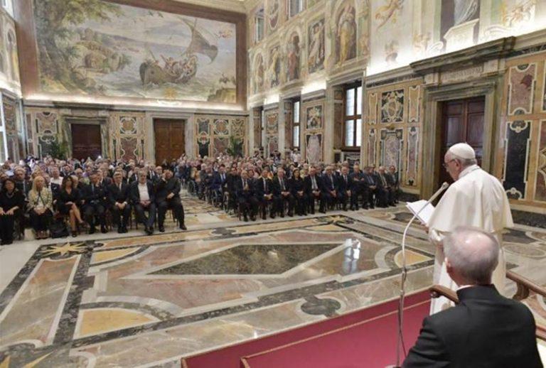 Settantacinque anni di Anmil, delegati vibonesi ricevuti da Papa Francesco