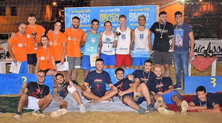 San Calogero: conclusa la seconda edizione del torneo di beach volley
