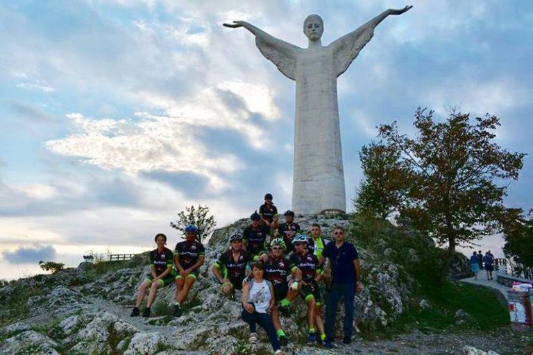 Da Vibo a Maratea in bici in memoria dell'amico scomparso