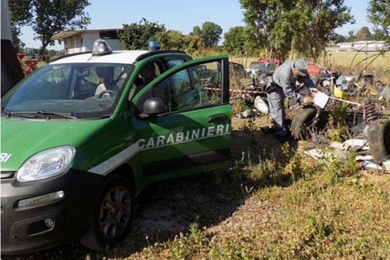 Discarica abusiva di rifiuti speciali scoperta a Capistrano: scattano sequestro e denuncia