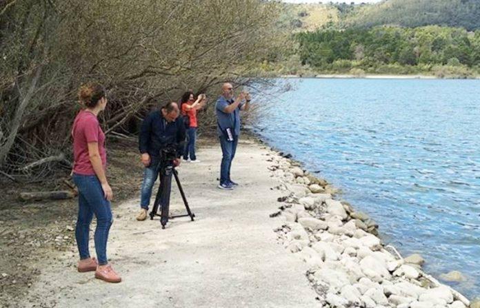 Riprese sul Lago Angitola a Maierato