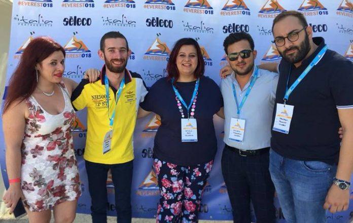 La delegazione di Forza Italia Giovani Vibo a Everest 2018