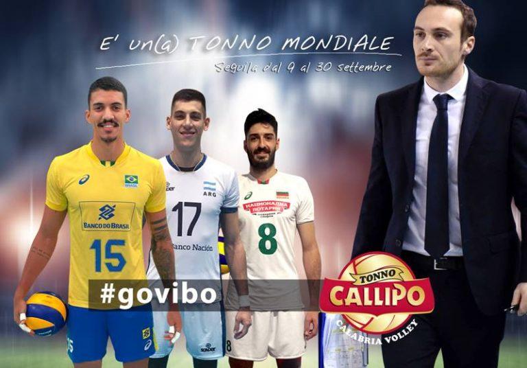 Partiti i mondiali di volley, quattro i portacolori della Tonno Callipo Vibo