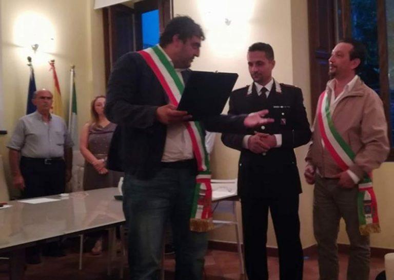 Carabinieri: il saluto del comandante Cervo a San Nicola da Crissa