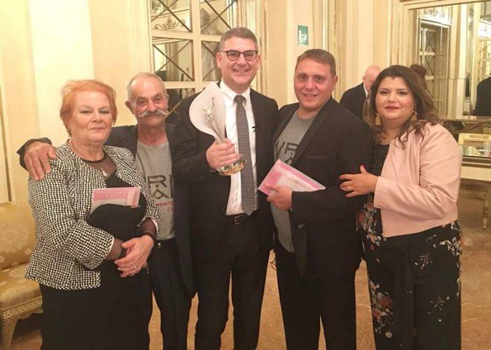 La delegazione di Monterosso premiata a Milano