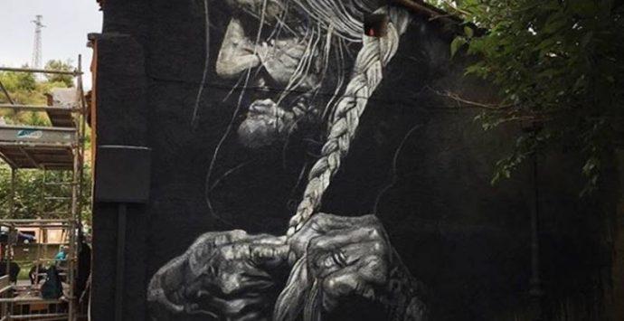 Murales ad Huarte (Spagna)