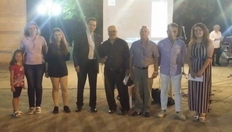 Consensi a Nao di Ionadi per il concorso di pittura e grafica