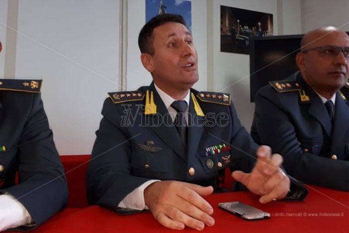 Il neo-comandante Roberto Prosperi