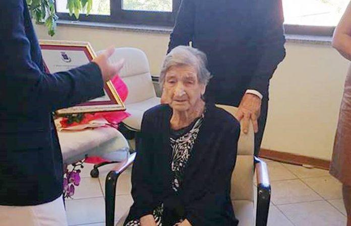 La centenaria Rosa Didiano