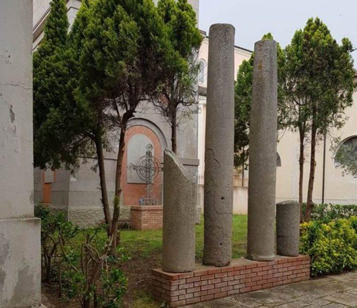 Il cortile del Museo di Mileto