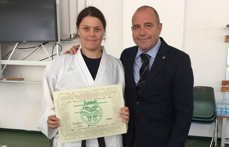 """Karate, la vibonese Viola Zangara consegue il titolo di """"Istruttore"""""""