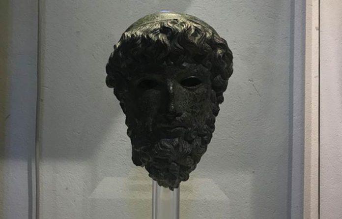 La Testa del Sele proveniente dal Museo di Paestum
