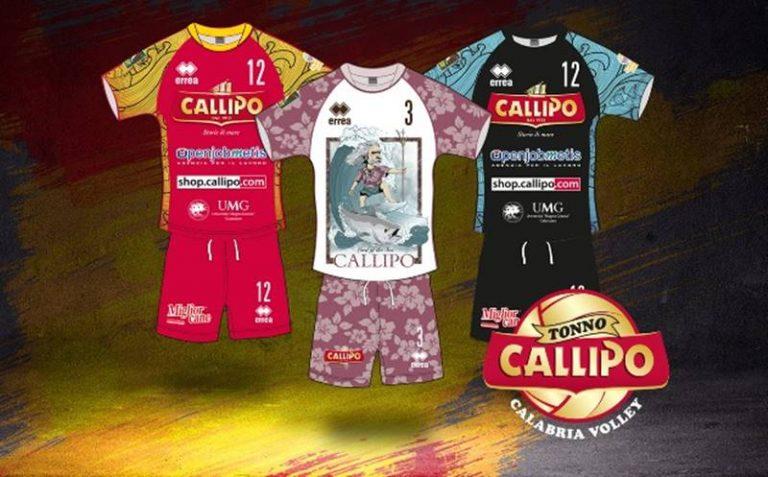Al via il campionato di Superlega, nuovo logo e nuove divise per la Tonno Callipo Calabria