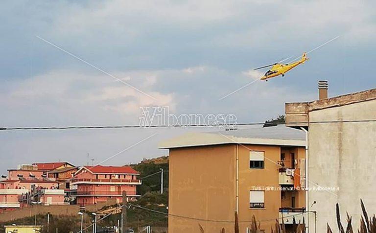 Incidente sul lavoro a Briatico, ferito trasportato in ospedale in elisoccorso