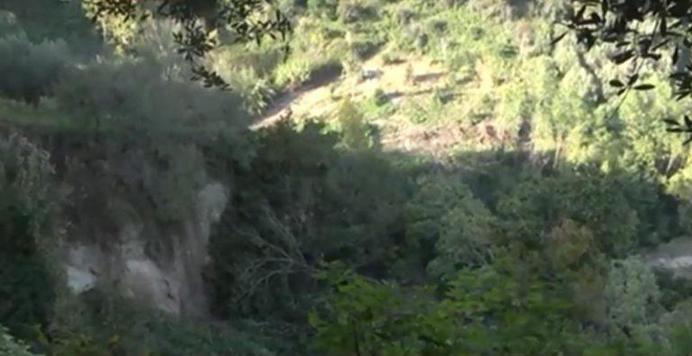 San Calogero, una frana spaventa agricoltori e cittadini – Video