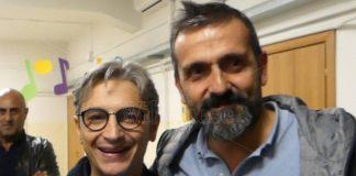 Il neo sindaco di Tropea Macrì con il senatore Mangialavori