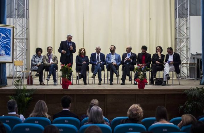 I relatori dell'evento di apertura del Festival