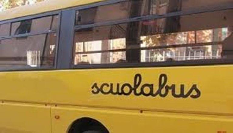 Pannaconi, servizio scuolabus sospeso: studenti appiedati