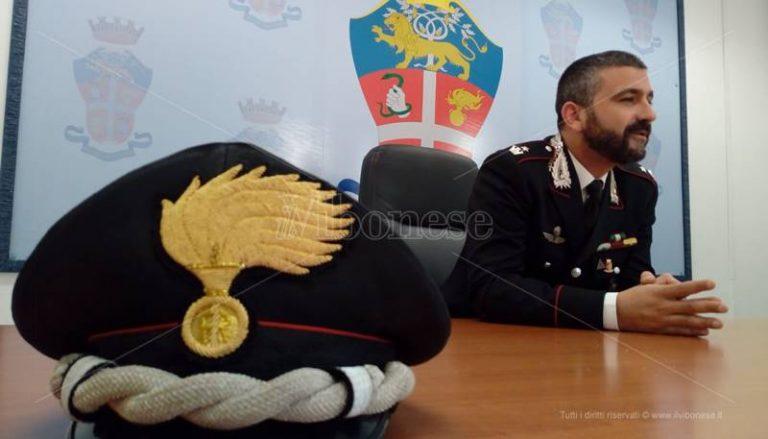 Carabinieri, il maggiore Dario Solito lascia la Compagnia di Tropea – Video