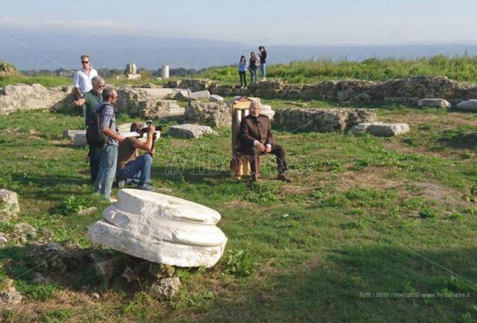 Striscia la notizia a Mileto antica
