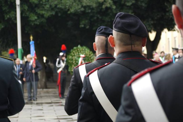 Festa del 4 novembre, a Vibo si rinnova il ricordo dei caduti di tutte le guerre – Foto