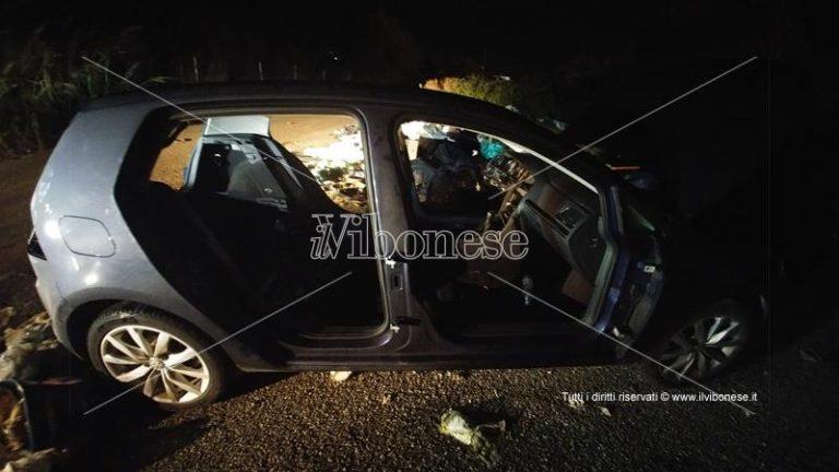 Auto rubata trovata a Vena Superiore totalmente smontata, indagini