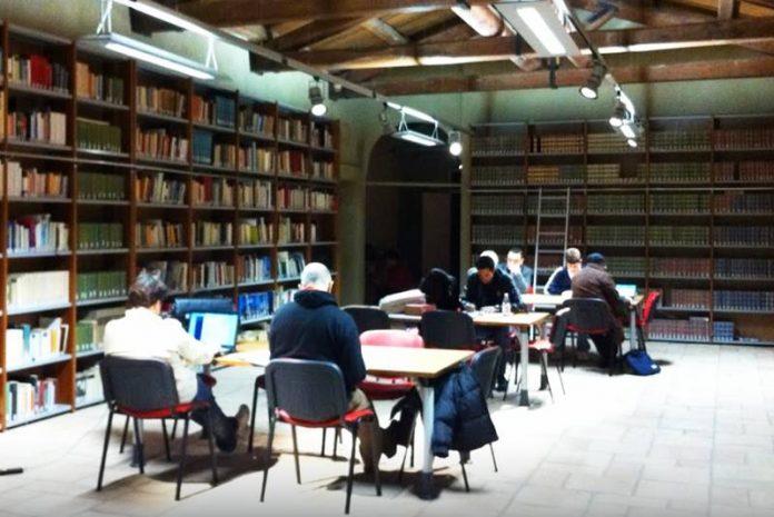 Una sala del Sistema bibliotecario vibonese
