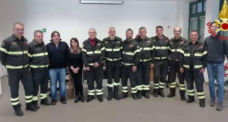 Dissesti statici e puntellamenti, concluso il corso dei Vigili del fuoco di Vibo