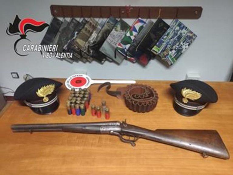 Fucile e munizioni sequestrate in un fienile nel Vibonese