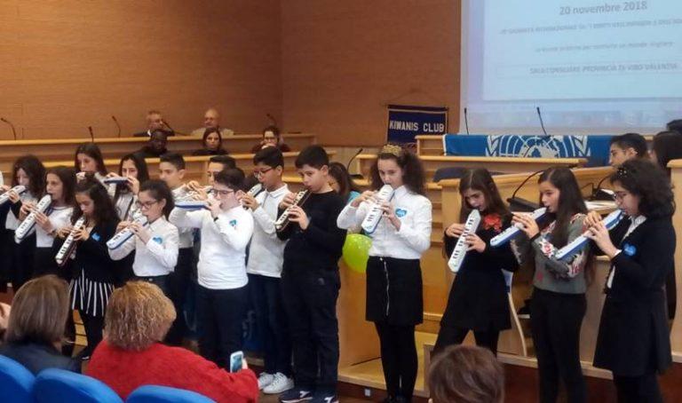 Giornata dei diritti dell'infanzia, alla Provincia l'iniziativa del Kiwanis di Vibo