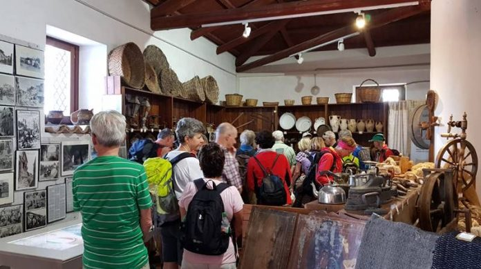 Visitatori al Museo di Zungri