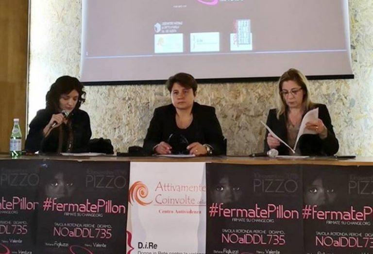 """""""No Pillon"""", anche da Pizzo pioggia di critiche al disegno di legge sull'affido condiviso"""