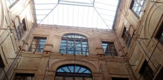 L'interno di Palazzo Gagliardi a Vibo
