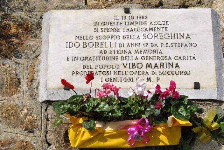 Tragedia della Soreghina, restaurata la lapide in memoria di Ido Borelli