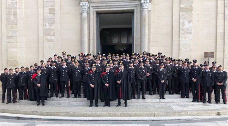 """""""Nei secoli fedele"""", celebrata anche a Vibo la patrona dei carabinieri – Foto"""