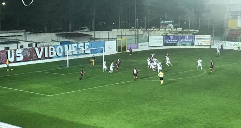 La Vibonese batte il Bisceglie nella prima del girone di ritorno
