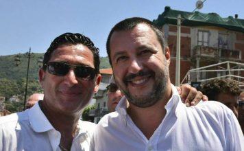 De Pinto con Salvini