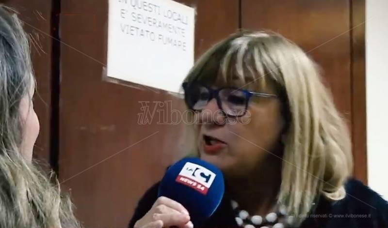 La dirigente del Comune Adriana Teti