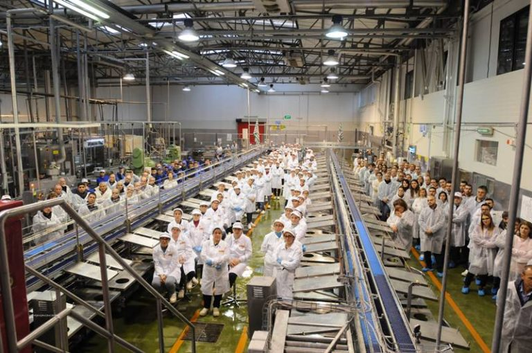 Fatturato record, Callipo premia i dipendenti con un bonus di 800 euro