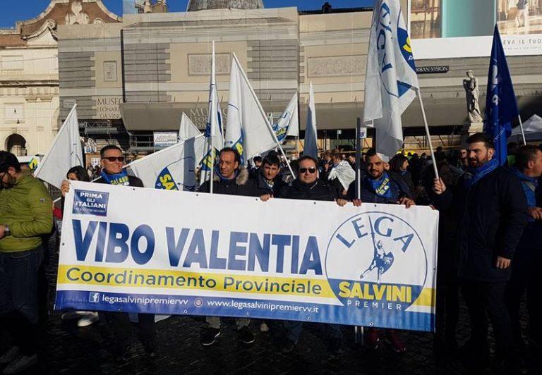 Manifestazione pro Lega-Salvini a Roma, da Vibo partiti due autobus – Video
