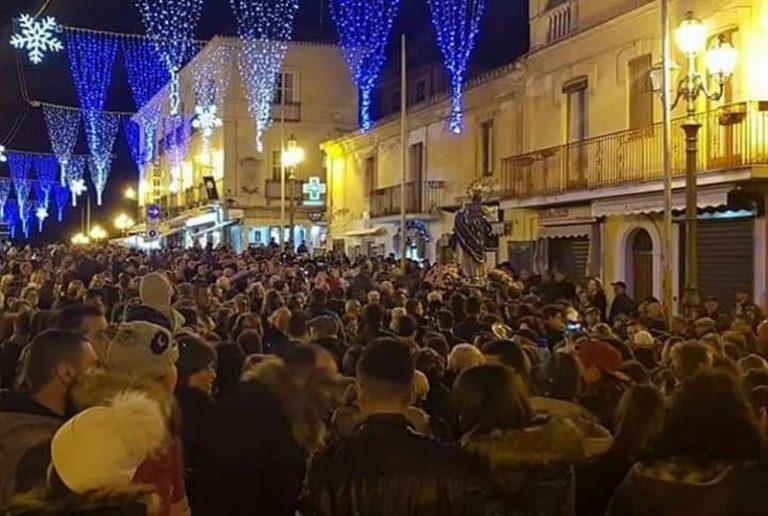 Pizzo, la secolare novena alla Madonna apre la strada al Natale